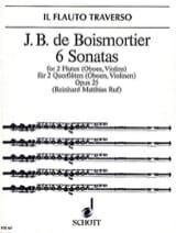 6 Sonaten op. 25 - 2 Flöten Oboen, Violinen laflutedepan.com