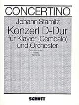 Johann Stamitz - Klavier-Konzert D-Dur – Partitur - Partition - di-arezzo.fr