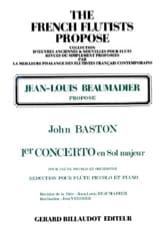 Concerto n° 1 en sol majeur – Flûte piccolo laflutedepan.com