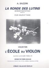 Antonio Bazzini - La Ronde des Lutins Op. 25 - Violín - Partitura - di-arezzo.es