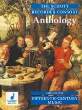 The Schott Recorder Consort Anthology, Bd 1 - laflutedepan.com