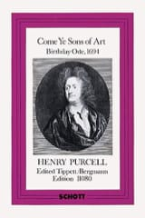 Henry Purcell - Come Ye Sons of Art 1694 - Score - Sheet Music - di-arezzo.co.uk