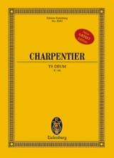 Te Deum Marc-Antoine Charpentier Partition laflutedepan.com