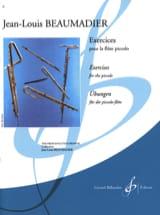 Exercices pour flûte piccolo Jean-Louis Beaumadier laflutedepan.com
