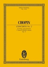 CHOPIN - Concerto N ° 2 for Piano and Orchestra in F Minor Op. 21 - Sheet Music - di-arezzo.co.uk