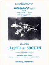 Romance en fa op. 50 Ludwig Van Beethoven Partition laflutedepan.com