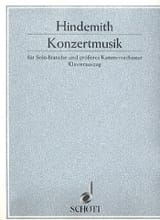 Paul Hindemith - Konzertmusik op. 48 - Sheet Music - di-arezzo.co.uk