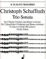 Trio Sonata d-moll –2 Flöten (Violinen) Bc - laflutedepan.com