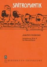 Scherzino op. 55 n° 6 Joachim Andersen Partition laflutedepan.com