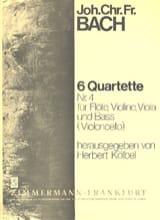 6 Flötenquartette (Nr. 4) – Flöte, Violine, Viola u. Bass (Violoncello) - laflutedepan.com