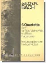 6 Flötenquartette (Nr. 5) – Flöte, Violine, Viola u. Bass (Violoncello) - laflutedepan.com
