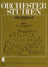 BACH - Orchesterstudien - Cello - Sheet Music - di-arezzo.co.uk