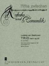Trio nach op. 87 – 3 Flöten BEETHOVEN Partition laflutedepan.com