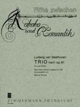 BEETHOVEN - Trio nach op. 87 - 3 Flöten - Partition - di-arezzo.fr