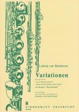 Ludwig van Beethoven - Variationen Uber La Ci Darem la Mano - Partition - di-arezzo.fr
