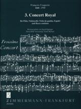 François Couperin - 第3回ロイヤルコンサート - フロテBC - 楽譜 - di-arezzo.jp