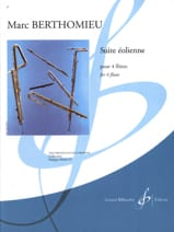 Marc Berthomieu - Windmill Suite - 4 Flutes - Sheet Music - di-arezzo.co.uk