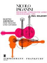 Niccolò Paganini - Duetto Amoroso - Violine Gitarre - Partition - di-arezzo.fr
