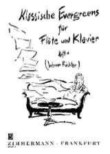 Werner Richter - Klassische Evergreens - Heft 1 – Flöte Klavier - Partition - di-arezzo.fr