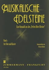 Werner Richter - Musikalische Edelsteine - Bd. 1 - Partition - di-arezzo.fr