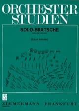 - Orchesterstudien Viola für Solo-Bratschisten - Partition - di-arezzo.fr