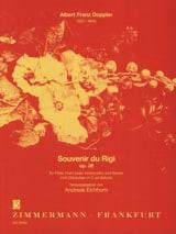 Souvenir du Rigi Op. 34 Albert Franz Doppler laflutedepan.com