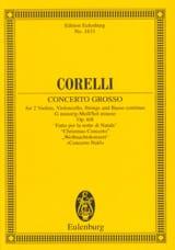 Concerto Grosso G-Moll Pour la Nuit de Noël - Conducteur laflutedepan.com
