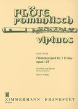 Louis Drouet - Concerto pour Flûte n° 7 en Ré Majeur, op. 127 - Partition - di-arezzo.fr