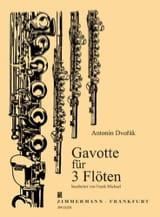 Gavotte Pour 3 Flûtes Antonin Dvorak Partition laflutedepan.com