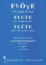Johann Wilhelm Gabrielski - 14 Divertissements –2 Flöten - Partition - di-arezzo.fr