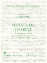 Sonata da camera in sol maggiore – Mandolino e Bc - laflutedepan.com