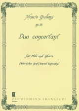 Mauro Giuliani - Duo Concertant, Op. 25 - Partition - di-arezzo.fr