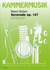 Mauro Giuliani - Serenade op. 127 – Flöte (Violine) Gitarre - Partition - di-arezzo.fr