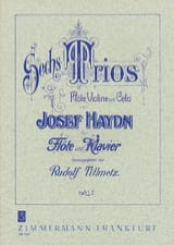 6 Trios - Heft 1 – Flöte Klavier Joseph Haydn laflutedepan.com