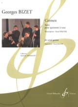 Carmen Suite -Quintette à vent BIZET Partition laflutedepan.com