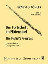Ernesto KÖHLER - Der Fortschritt - Op. 33 Heft 2 - Partition - di-arezzo.fr