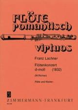 Franz Lachner - Flötenkonzert d-moll – Flöte Klavier - Partition - di-arezzo.fr