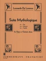 Suite mythologique op. 38 Leonardo de Lorenzo laflutedepan.com