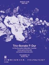 Antonio Lotti - Triosonate F-Dur – Flöte Viola da g. Cembalo - Partition - di-arezzo.fr