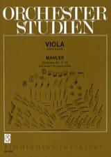 Orchesterstudien, Bd. 2 - Viola Gustav Mahler laflutedepan.com