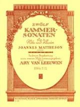 12 Kammersonaten - Heft 1 - Flöte Klavier laflutedepan