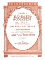 12 Kammersonaten - Heft 2 - Flöte Kalvier laflutedepan.com