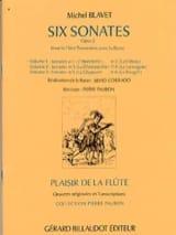6 Sonates Op. 2 - Volume 1 Michel Blavet Partition laflutedepan.com