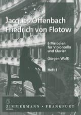 6 Melodien für Violoncello und Klavier, Heft 1 laflutedepan.com