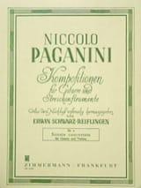 Sonata Concertata Niccoló Paganini Partition Duos - laflutedepan.com