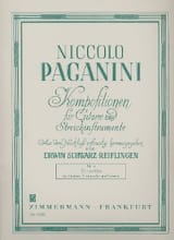 Terzetto en Ré Majeur Niccolò Paganini Partition laflutedepan.com