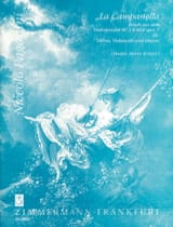 La Campanella –violine Cello Gitarre - Partitur + Stimmen laflutedepan.com