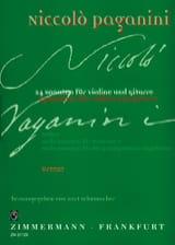 Niccolò Paganini - 24 Sonaten for Violine und Gitarre - Heft 2 - Sheet Music - di-arezzo.co.uk