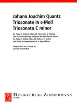 Triosonate c-moll - Flöte Violine, Oboe 2. Flöte 2. Violine u. Klavier laflutedepan.com