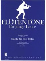 Domenico Scarlatti - Duette für 2 Flöten - Partition - di-arezzo.fr